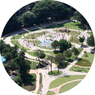 Parque do Povo visto de cima